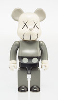Fine Art - Sculpture, American:Contemporary (1950 to present), KAWS X BE@RBRICK. Companion 400%, 2002. Painted cast vinyl.10-1/2 x 5 x 3-1/2 inches (26.7 x 12.7 x 8.9 cm). Stamped on...