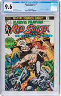 Bronze Age (1970-1979):Adventure, Marvel Feature #1 Red Sonja (Marvel, 1975) CGC NM+ 9.6 Off-white to white pages....