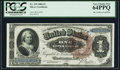 Large Size:Silver Certificates, Fr. 219 $1 1886 Silver Certificate PCGS Very Choice New 64PPQ.. ...
