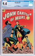 Golden Age (1938-1955):Science Fiction, Four Color #437 John Carter of Mars (Dell, 1952) CGC NM 9.4Off-white to white pages....