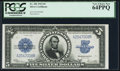 Large Size:Silver Certificates, Fr. 282 $5 1923 Silver Certificate PCGS Very Choice New 64PPQ.. ...