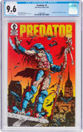 Modern Age (1980-Present):Science Fiction, Predator #1 (Dark Horse, 1989) CGC NM+ 9.6 White pages....