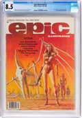 Magazines:Science-Fiction, Epic Illustrated #3 (Marvel, 1980) CGC VF+ 8.5 White pages....