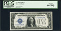 Small Size:Silver Certificates, Fr. 1605 $1 1928E Silver Certificate. PCGS Gem New 66PPQ.. ...