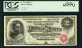 Large Size:Silver Certificates, Fr. 241 $2 1886 Silver Certificate PCGS Gem New 65PPQ.. ...
