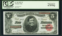 Fr. 364 $5 1891 Treasury Note PCGS Superb Gem New 67PPQ