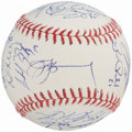 Autographs:Baseballs, 2012 Detroit Tigers - American League Champions - Team Signed Baseball (24 Signatures).. ...