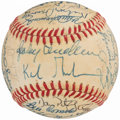 Autographs:Baseballs, 1984 Detroit Tigers - World Series Champions - Team Signed Baseball(39 Signatures).. ...