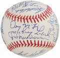 Autographs:Baseballs, Detroit Tigers Greats Multi-Signed Baseball (19 Signatures).. ...