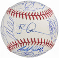 Autographs:Baseballs, 2015 Detroit Tigers Team Signed Baseball (28 Signatures).. ...