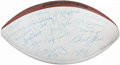 Football Collectibles:Balls, 1966 Green Bay Packers - Super Bowl I Champs - Multi-Signed Football (25 Signatures).. ...