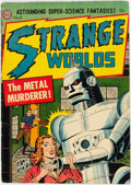 Golden Age (1938-1955):Science Fiction, Strange Worlds #8 (Avon, 1952) Condition: VG+....