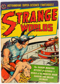 Golden Age (1938-1955):Science Fiction, Strange Worlds #9 (Avon, 1952) Condition: VG+....
