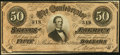 Confederate Notes:1864 Issues, T66 $50 1864 PF-9 Cr. 499. XF or better. With paper crease from original printing. Lower serial number.. ...