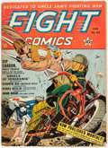 Golden Age (1938-1955):War, Fight Comics #23 (Fiction House, 1943) Condition: VG+....