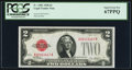 Small Size:Legal Tender Notes, Fr. 1501 $2 1928 Legal Tender Note. PCGS Superb Gem New 67PPQ.. ...
