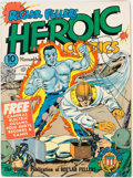 Golden Age (1938-1955):War, Heroic Comics #9 (Eastern Color, 1941) Condition: VG+....
