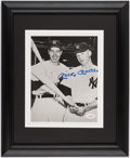 Autographs:Photos, Mickey Mantle Signed Framed Photograph.. ...