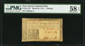 Colonial Notes:New Jersey, New Jersey March 25, 1776 1s PMG Choice About Unc 58 EPQ.. ...