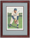 Autographs:Others, 1953 Topps Willie Mays Limited Edition Signed Lithograph.. ...