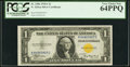 Small Size:World War II Emergency Notes, Fr. 2306 $1 1935A North Africa Silver Certificate. PCGS Very Choice New 64PPQ.. ...