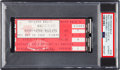 Basketball Collectibles:Others, 1984 Michael Jordan NBA Debut Ticket Stub - Pop 1/6....