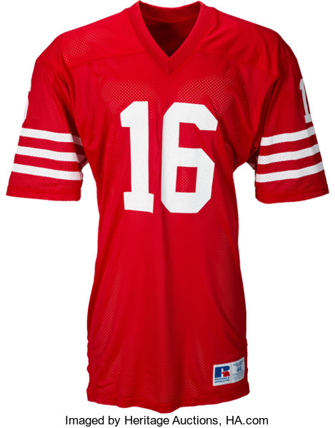 409a19b8 1986-87 Joe Montana Game Worn San Francisco 49ers Jersey. ... | Lot ...