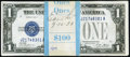 Small Size:Silver Certificates, Fr. 1601 $1 1928A Silver Certificates. Pack of 100. Choice Crisp Uncirculated.. ... (Total: 100 notes)