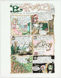 "Original Comic Art:Miscellaneous, Dame Darcy Meat Cake #4 Complete 4-Page Story ""Rapunzel""Original Art (Fantagraphics Books, 2002)...."