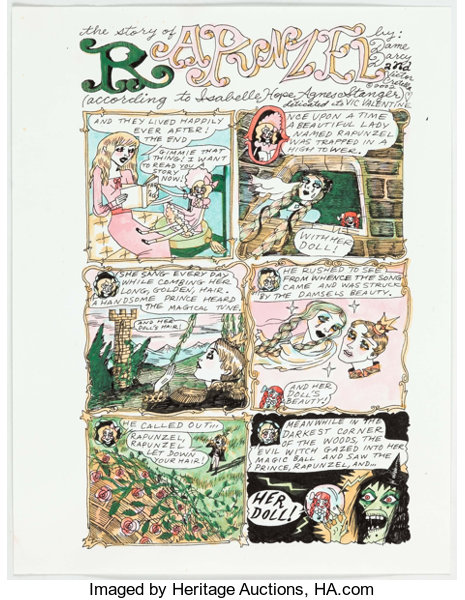 Dame Darcy Meat Cake #4 Complete 4-Page Story