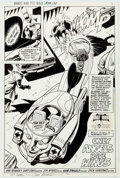 Original Comic Art:Splash Pages, Jim Aparo The Brave and the Bold #191 Splash Page 3 OriginalArt (DC, 1982)....