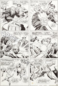 Original Comic Art:Panel Pages, Jack Kirby and Vince Colletta Thor #140 Story Page 4Original Art (Marvel, 1967)....