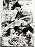 Original Comic Art:Panel Pages, Sam Kieth Marvel Comics Presents #87 Story Page 7 WolverineOriginal Art (Marvel, 1991)....