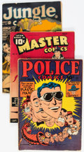 Golden Age (1938-1955):Miscellaneous, Golden Age Miscellaneous Comics Group of 7 (Various Publishers, 1940s) Condition: Average GD/VG.... (Total: 7 Comic Books)