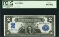 Large Size:Silver Certificates, Fr. 250 $2 1899 Silver Certificate PCGS Gem New 66PPQ.. ...