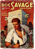 Pulps:Hero, Doc Savage - March 1933 (#1) (Street & Smith) Condition: GD....