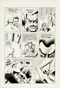 Original Comic Art:Panel Pages, Marc Hempel and Mark Wheatley Blood of the Innocent #1 Pages10 and 16 Original Art Group of 2 (WaRP Graphics, 198... (Total: 2Original Art)