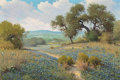 Paintings, Jerry Ruthven (American, b. 1947). Remembrance of Yesterday, 1981. Oil on Masonite. 24 x 36 inches (61.0 x 91.4 cm). Sig...