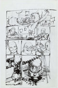 Original Comic Art:Miscellaneous, Dale Keown - Incredible Hulk Preliminary Artwork OriginalArt (Marvel, undated)....