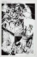 Original Comic Art:Panel Pages, Mark Bagley, John Dell, and Scott Hanna Venom #156 StoryPage 8 Original Art (Marvel, 2017)....