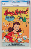 Golden Age (1938-1955):Superhero, Mary Marvel Comics #10 Crowley Copy Pedigree (Fawcett Publications, 1947) CGC NM 9.4 Cream to off-white pages....