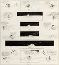 Original Comic Art:Comic Strip Art, George Herriman Krazy Kat Sunday Comic Strip Original Art dated 2-29-20 (King Features Syndicate, 1920)....