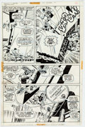 Original Comic Art:Panel Pages, Herb Trimpe and John Severin Incredible Hulk #154 Page 17Original Art (Marvel, 1972)....