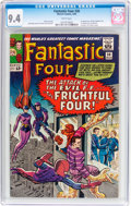 Silver Age (1956-1969):Superhero, Fantastic Four #36 (Marvel, 1965) CGC NM 9.4 White pages....