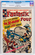 Silver Age (1956-1969):Superhero, Fantastic Four #28 (Marvel, 1964) CGC NM+ 9.6 Off-white pages....
