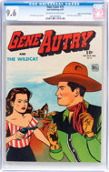 Golden Age (1938-1955):Western, Four Color #75 Gene Autry - Mile High Pedigree (Dell, 1945) CGC NM+ 9.6 Off-white to white pages....