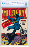 Golden Age (1938-1955):War, Military Comics #20 Mile High Pedigree (Quality, 1943) CBCS NM 9.4White pages....