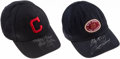 Autographs:Others, Bob Feller & Sam Snead Signed Hat Lot of 2.. ... (Total: 2items)