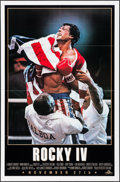 "Movie Posters:Sports, Rocky IV (MGM/UA, 1985). One Sheets (2) (27"" X 41"") Advance 2 Styles. Sports.. ..."