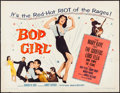 """Movie Posters:Musical, Bop Girl Goes Calypso (United Artists, 1957). Half Sheet (22"""" X 28""""). Musical.. ..."""